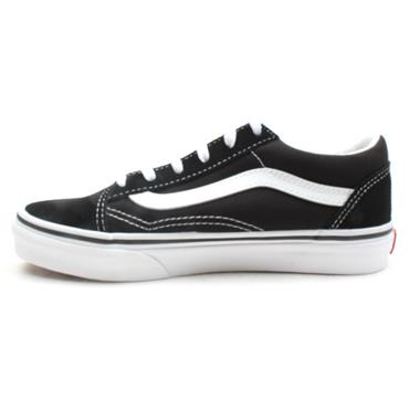 VANS UY OLD SKOOL JUNIOR LACED - BLACK/WHITE