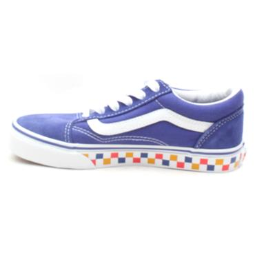 VANS UY OLD SKOOL JUNIOR LACED - BLUE