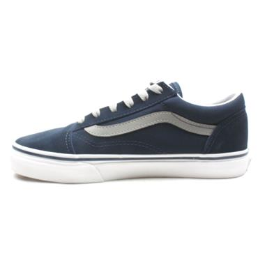 VANS UY OLD SKOOL JUNIOR LACED - BLUE SILVER