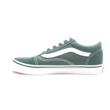 VANS UY OLD SKOOL JUNIOR LACED - GREEN WHITE