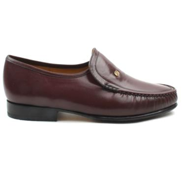 BARKER MENS SHOE - WINE