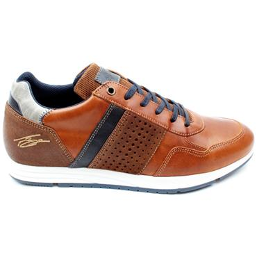LLOYD&PRYCE VARLEY LACED SHOE - TAN