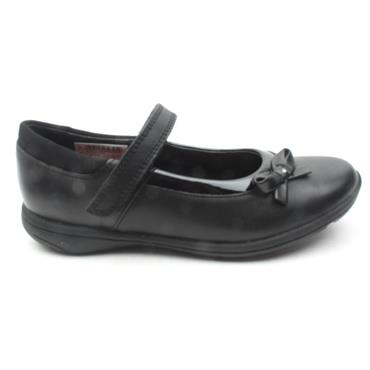 CLARKS VENTURE STAR BOW SHOE - BLACK H