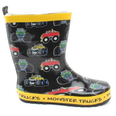 WELLIES W405A JUNIOR - BLACK/YELLOW
