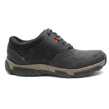 CLARKS WALBECKEDGE 2 LACED SHOE - BLACK G