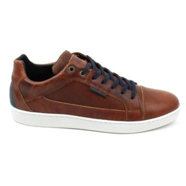 LLOYD AND PRYCE WARD LACED SHOE - CAMEL