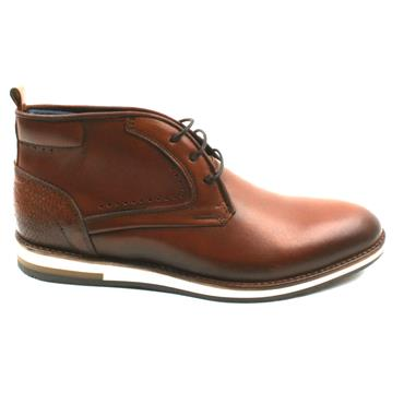 BRENT POPE MENS WELTON LACED BOOT - TAN