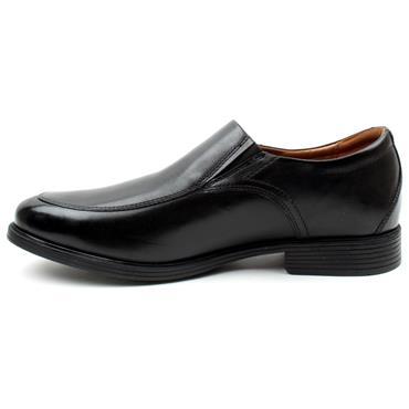 CLARKS WHIDDON STEP SHOE - BLACK H