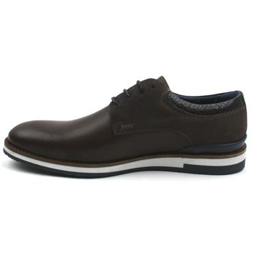 POPE WINTON LACED SHOE - DARK BROWN