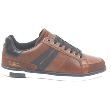 LLOYD AND PRYCE WREN LACED SHOE - CAMEL