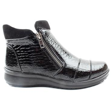 PROPET WW1528 ANKLE BOOT - BLACK PATENT