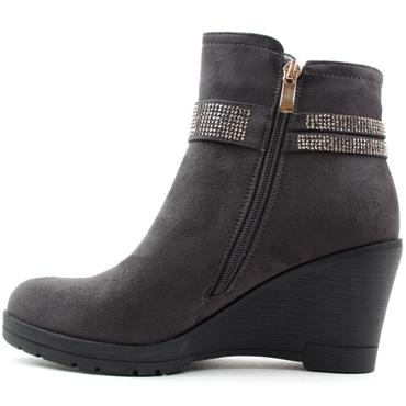 REDZ X2175 ANKLE BOOT - GREY