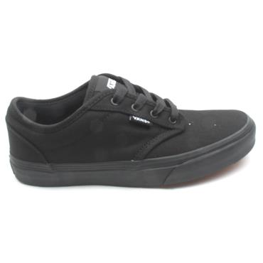 VANS CANVAS YOUTHS YATWOOD - BLACK FABRIC