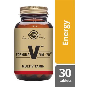 Solgar Formula VM-75 Tablets 30 pack