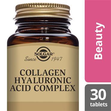 Solgar Collagen Hyaluronic Acid Complex Tablets 30 pack