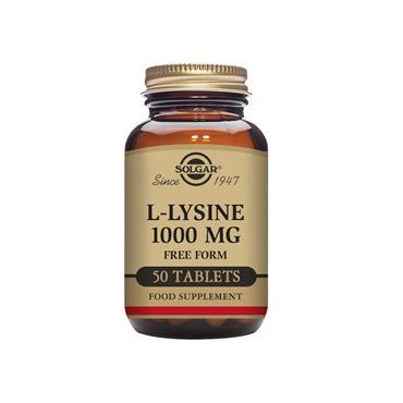 Solgar L-Lysine 1000 mg Tablets 50 pack