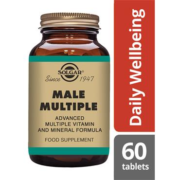 Solgar Male Multiple E1724 60tab