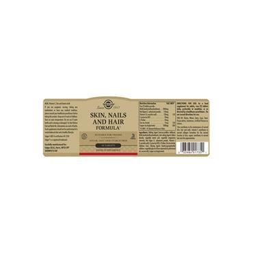 Solgar Skin, Nails and Hair Tablets 60 pack