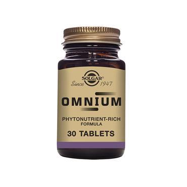 Solgar Omnium Tablets 30 pack