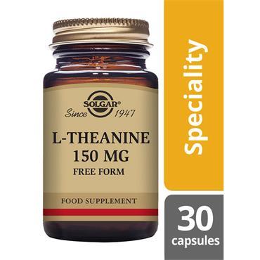 Solgar L-Theanine 150 mg Vegetable Capsules 30 pack