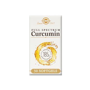 Solgar Full Spectrum Curcumin 185x Softgels 30 pack