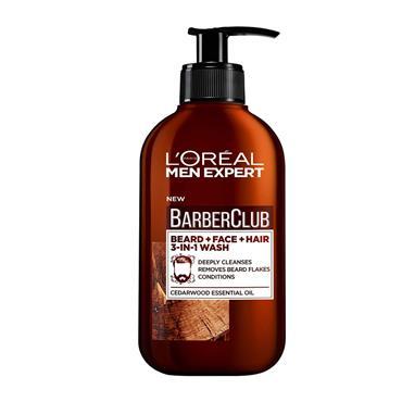 Loreal Men Expert Barber Club Beard Face Wash 200Ml