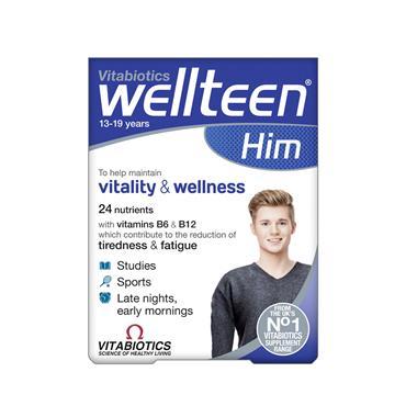 Vitabiotics Wellteen Him Original 30 tablets