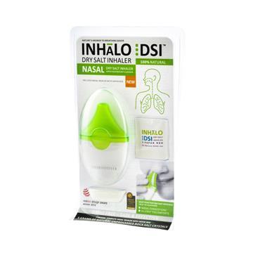 Inhalo Dry Salt Inhaler Nasal Descongestion And Allergy Relief