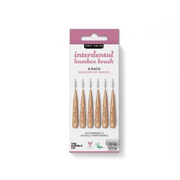 Humble Brush Company Interdental Bamboo Brush Size 0 6-Pack