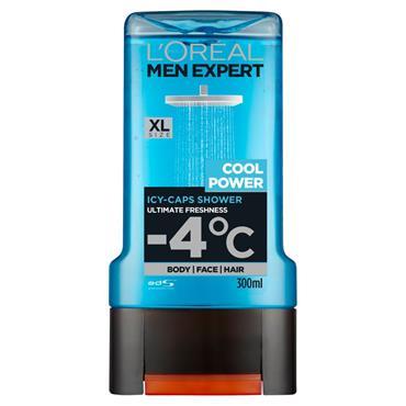 Loreal Men Expert Cool Power Shower Gel 300Ml