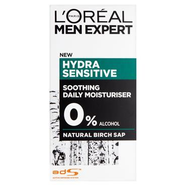 Loreal Men Expert Hydra Sensitive Moisturiser 50Ml