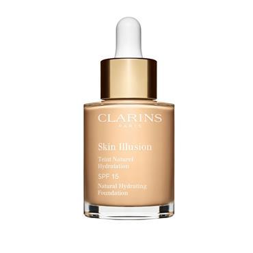 Clarins Makeup Skin Illusion Foundation Spf15 101 Linen 30Ml