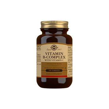 Solgar Vitamin B-Complex with Vitamin C Tablets 100
