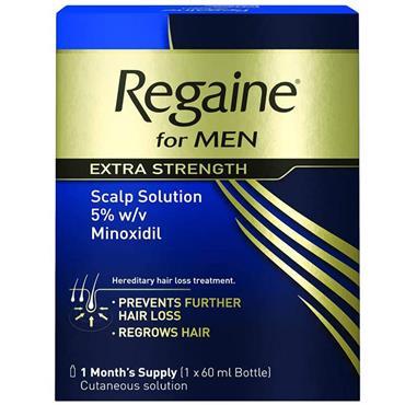 Regaine Extra Strength Scalp Solution 60Ml