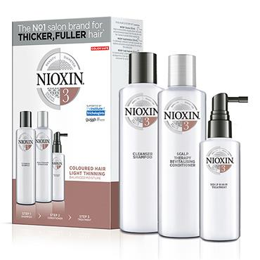 Wella Nioxin System 3 For Colored Hair With Light Thinning, 150ml set