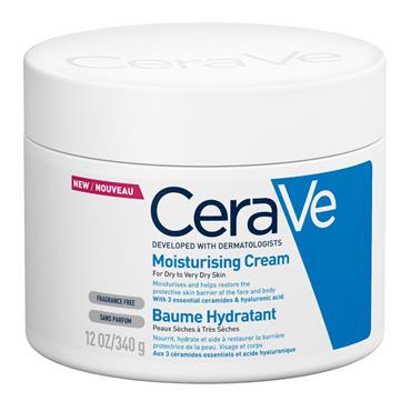 Cerave Body Moisturiser For Dry Skin - Moisturiser Cream 340G