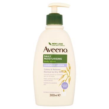 Aveeno Daily Moisturising Lavender Lotion 300Ml Pump