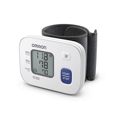 OMRON wrist blood pressure monitor RS2 HEM-6161-E