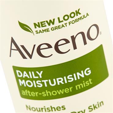 Aveeno Daily Moisturising After Shower Mist Spray 200Ml