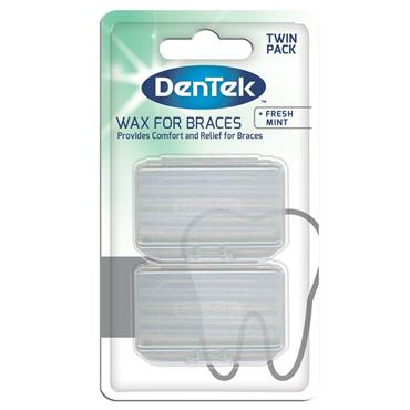 DenTek Fresh Mint Wax For Braces