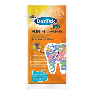 Dentek Kids Fun Flossers 40