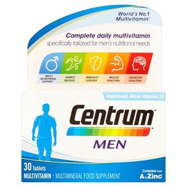 Centrum Men Complete A To Zinc 30 Capsules