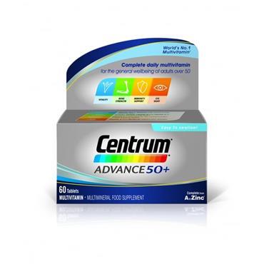 Centrum Advance 50 Plus 60 Pack