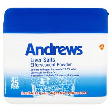 Andrews Liver Salts Effervescent Powder 150G