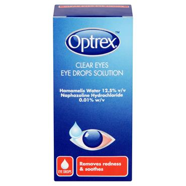 Optrex Clear Eyes Eye Drops Solution 10ml