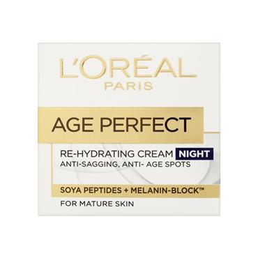 Loreal Paris Age Perfect Re-Hydrating Night Cream 50Ml