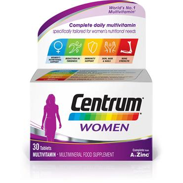 Centrum Women Multivitamin 30 Capsules