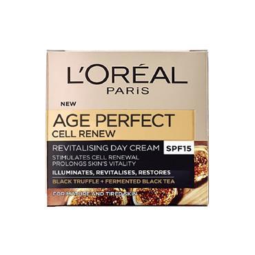 Loreal Paris Age Perfect Cell Renew Revitalising Day Cream Spf15 50Ml