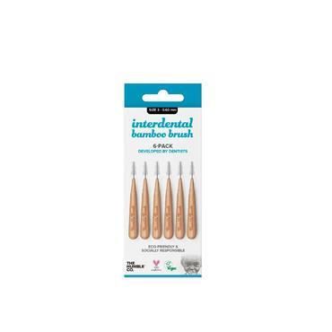 Humble Brush Company Interdental Bamboo Brush Size 3 6-Pack