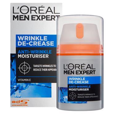 Loreal Men Wrinkle Decrease Cream 50Ml